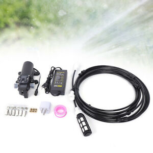 Home Water Pump Sprayer 5l min Misting High Pressure Water Spray Booster 12v Us