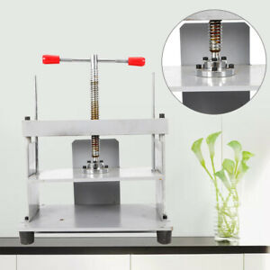 A4 Manual Flattening Machine Bookbinder Press Bookbinding Flattener balance Bar