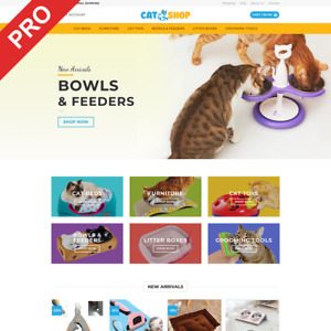 Dropshipping Website Business Cat Supplies Turnkey Store For Sale
