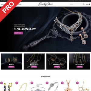 Turnkey Dropshipping Business Jewelry Store Premium Ecommerce Website