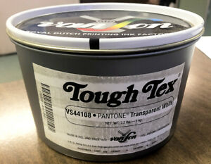 Van Son Tough Tex Printing Ink 44108 Pantone Transparent White 2 2lb Can