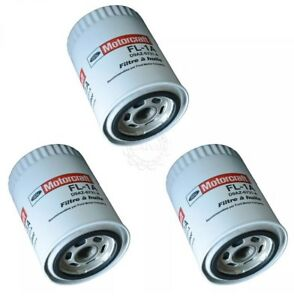 Ford Motorcraft Oem Fl1a Engine Oil Filter Kit Set Of 3 For Ford Lincoln Mercury