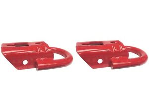 Db Oem Ford F 150 Red Front Tow Hooks Fl3z 17n808 A Pack Of 2