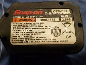 Snap On Ctb4147 Battery Faulty