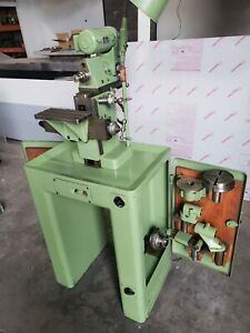 Aciera F1 Swiss Precision Universal Milling Machine Loaded Rare Barn Find