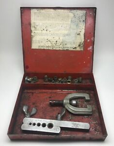 Snap on Tf 528 b Copper Tube Cutter Flaring Tool Kit