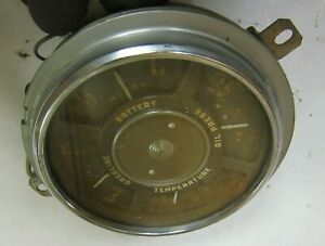 1953 Chevy Chevrolet Gmc Pickup Truck Dash Gauge Cluster Gauges Used 47 53