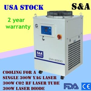 220v S a Cw 6300bn Industrial Water Chiller For Cooling A 300w Co2 Rf Laser Tube