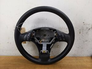 2004 09 Mazdaspeed Mazda 3 Speed Oem Steering Wheel Black Leather Oem Used