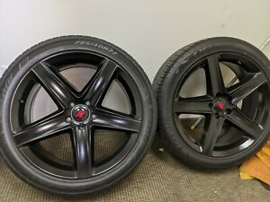 22inch Srt Rep Rims And Tires