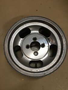 Two 2 Shelby Mags Wheels 4 Bolt 13x5 5 Fiat 4x98 Scorpion 124 126 500