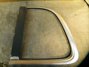 1985 1986 Ford Thunderbird Rear Window Chrome Trim Left Side Window Moulding