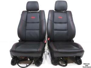 Dodge Durango R T Leather Front Seats 2011 2012 2013 2014 2015 2016 2017 2018