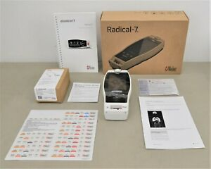 New Masimo Rainbow Radical 7 Color Touch Screen Pulse Oximeter W Patient Cable