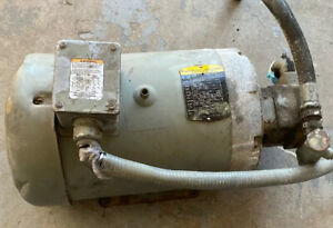 Baldor Reliance 10 Hp 37j383x959h2 With Gearbox 230 460