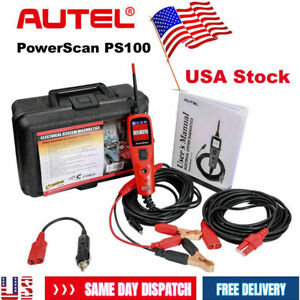 Usa Ship Autel Powerscan Ps100 Electrical System Diagnostic Tool Circuit Tester