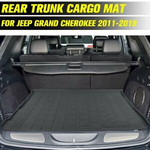 Cargo Mat Rear Trunk Boot Liner Floor Tray For Jeep Grand Cherokee 2011 2019
