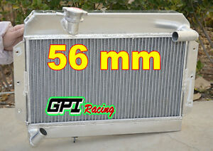 For Mg Mgb Gt roadster 1963 1968 1964 1965 Aluminum Radiator 56mm Core