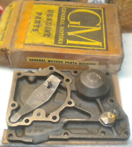 Nos Chevrolet Power Glide Transmission Servo Cover 1950 To 1954 Bel Air