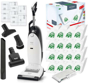 Miele Dynamic U1 Lotus White Cat And Dog Active Air Clean Upright Vacuum Cleaner
