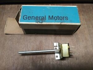 Nos Gm 67 68 Pontiac Grand Prix Catalina A C Blower Motor Control Fan Switch