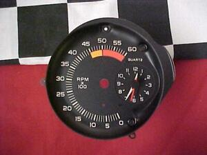 80 Pontiac Firebird Clock With Tach Face
