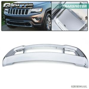 New Front Bumper Grille Bezel frame Fits 2011 2016 Jeep Grand Cherokee Ch1037107