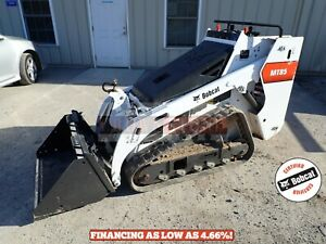 2018 Bobcat Mt85 Mini Track Loader 632 Hours Aux Hydraulics Quick Attach