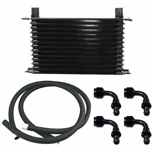 13 Row Engine Trans Transmission 10an Universal Oil Cooler Hose Fitting Kit