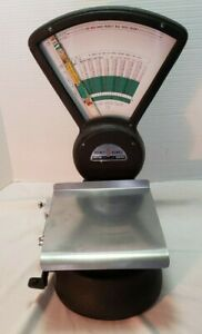 Vintage Pitney Bowes Mailroom Postage Postal Weight Scale Model S 510 Works Blac