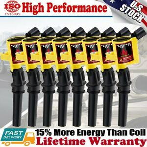 8 Ignition Coil Pack For Ford F150 Expedition 4 6l 5 4l 2000 2001 2002 2003 2004