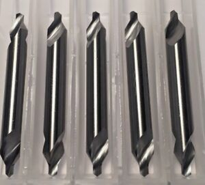 Carbide Center Drill 4 1 8 Pilot 60 Degree 5 pack Made In The Usa H24