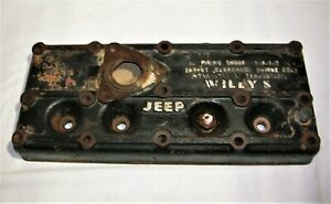 Vintage 1946 1953 Jeep Willys Cj2a Engine Cylinder Head 640161