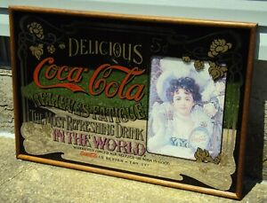 COCA COLA - RELIEVES FATIGUE - MIRROR DISPLAY - 38