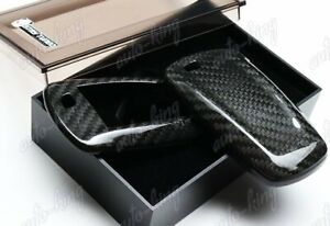 100 Real Carbon Fiber Remote Key Shell Cover Case For Bmw X1 X3 X5 X Series