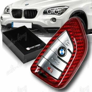 Real Carbon Fiber Remote Key Shell Cover For Bmw X1 X5 X6 F48 F15 F16 X Series