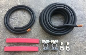 Battery Relocation Universal Kit 2 Awg Cable Hot Rat Street Rods Custom Nhra