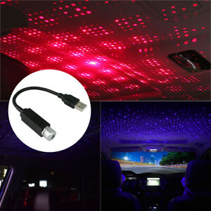 Car Home Led Ceiling Projector Star Light Usb Night Romantic Atmosphere Light