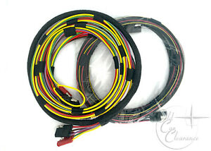 1964 1965 Lincoln Convertible Top Wiring Harness