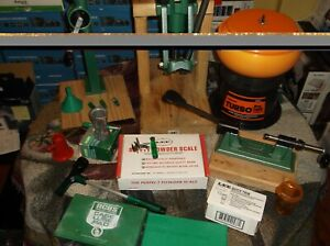 Lot Reloading Equipment Dies Press Case Prep Rifle Pistol RCBS Free Ship