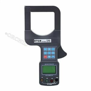 Etcr7300 Large Caliber Three Phase Power Tester 0 00ma 1200a Hy