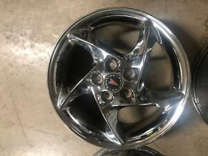 Pontiac Grand Prix Factory Stock Oem Wheel Rim 17 Chrome Comp G Gtp 2004 08