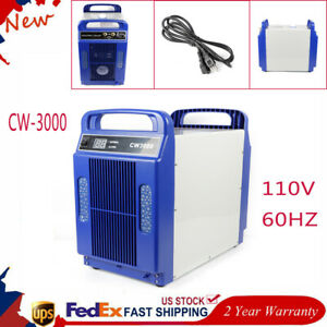 Cw 3000 Co2 Laser Water Chiller For Laser Tube To Cooling 2 Years Warranty