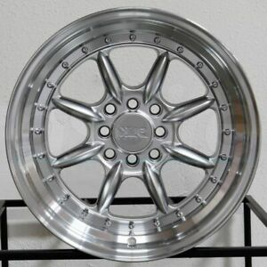 4 new 16 Xxr 002 5 Wheels 16x8 4x100 4x114 3 0 Hyper Silver Ml Rims
