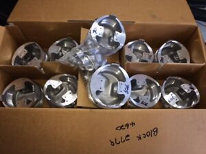 New Set Of 8 Big Block Chevy Dome Pistons 4 530 Forged Venolia