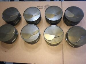 Chevy Big Block Mahle Forged Dome Pistons 4 560 Set Of 8 New