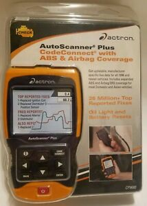 Actron Cp9680 Autoscanner Plus Obd Ii Scan Tool Codeconnect W Abs Airbag