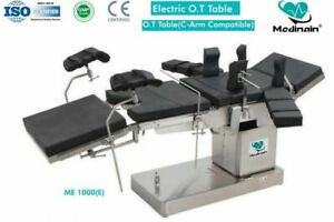 Fully Electric C arm Compatible Operation Theater Ot Table Surgical Table 2d1