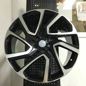 22 Black Autobiography Dynamic Rims Wheels Fits Land Rover Discovery Lr4 Lr5