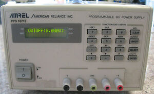 American Reliance Amrel Programable Dc Power Supply Amrel Pps 10710 Amrel 10710